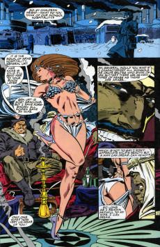 Extrait de Punisher War Journal Vol.1 (Marvel comics - 1988) -33- The kamchatkan conspiracy part 3 : fire in the hole