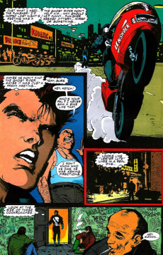 Extrait de Punisher War Journal Vol.1 (Marvel comics - 1988) -30- Spin cycle