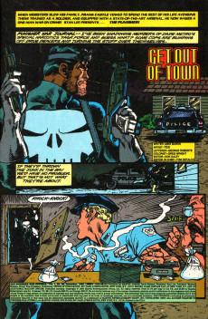 Extrait de Punisher War Journal Vol.1 (Marvel comics - 1988) -25- The sicilian saga part 1 : get out of town