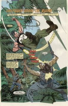 Extrait de Punisher War Journal Vol.1 (Marvel comics - 1988) -23- Firepower among the ruins part 1