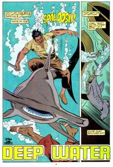 Extrait de Punisher War Journal Vol.1 (Marvel comics - 1988) -21- Deep water