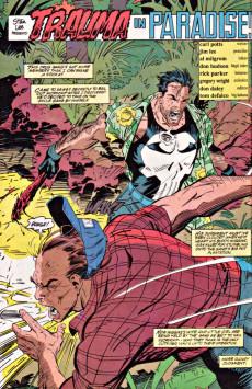 Extrait de Punisher War Journal Vol.1 (Marvel comics - 1988) -19- Trauma in paradise