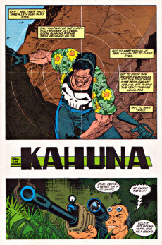 Extrait de Punisher War Journal Vol.1 (Marvel comics - 1988) -18- Kahuna