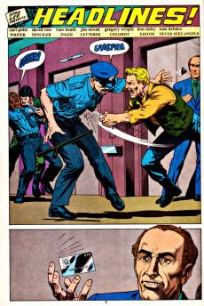 Extrait de Punisher War Journal Vol.1 (Marvel comics - 1988) -15- Headlines