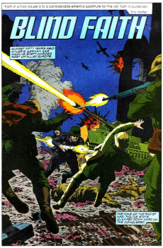 Extrait de Punisher War Journal Vol.1 (Marvel comics - 1988) -14- Blind faith