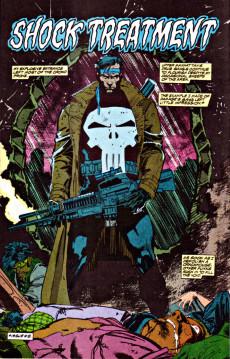 Extrait de Punisher War Journal Vol.1 (Marvel comics - 1988) -11- Shock treatment
