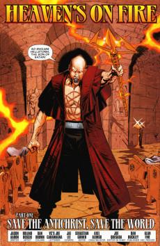 Extrait de Ghost Riders: Heaven's on Fire (Marvel - 2009) -1- Heaven's on fire part 1 : save the antichrist, save the world