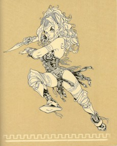 Extrait de Atalante - La Légende -HS3- Sketchbook Hors-série #1 : Crisse - Atalante