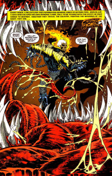 Extrait de Ghost Rider/Blaze: Spirits of Vengeance (Marvel - 1992) -6- Spirits of Venom part 4 : last rites