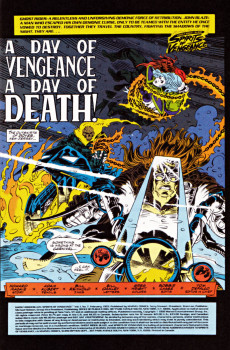 Extrait de Ghost Rider/Blaze: Spirits of Vengeance (Marvel - 1992) -7- A day of vengeance, a day of death