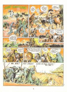 Extrait de La terre de la bombe -2- Des mutants dans l'étang
