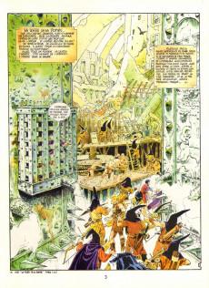 Extrait de La terre de la bombe -3- Les sortilèges de Perp