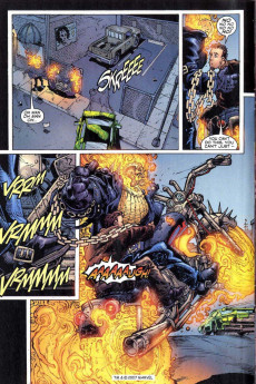 Extrait de Ghost Rider: The Hammer Lane (2001) -3- The hammer lane part 3 : chain of fools