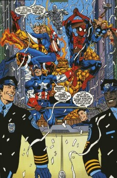 Extrait de Amazing Spider-Man (The) (1999) -7- The perfect world part 1 : heroes and villains