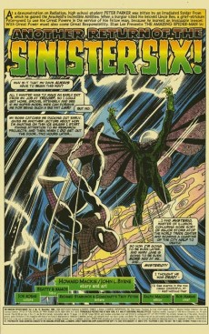 Extrait de Amazing Spider-Man (The) Vol.2 (Marvel comics - 1999) -12- Another Return of the Sinister Six!