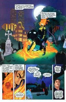 Extrait de Ghost Riders: Crossroads (Marvel - 1995) - Crossroads