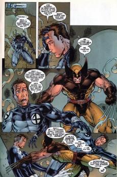Extrait de Fantastic Four (1996) -7- Into the negative zone