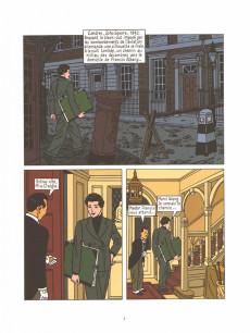 Extrait de Blitz (Rivière/Floc'h) -3- Black Out et autres histoires du Blitz