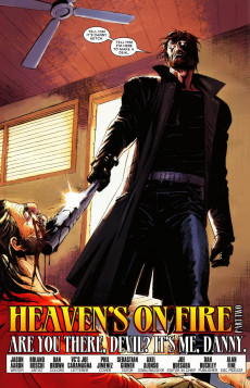 Extrait de Ghost Riders: Heaven's on Fire (Marvel - 2009) -2- Heaven's on fire part 2 : are you there, devil ? it's me, danny