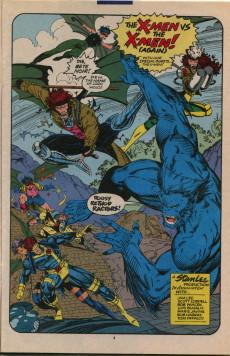 Extrait de X-Men Vol.2 (Marvel comics - 1991) -11- The X-men vs the X-men (again)