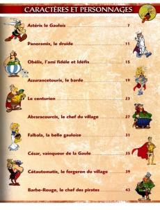 Extrait de Astérix (Collection Atlas - Statuettes) -1- La Gaule et l'Empire Romain avec Astérix