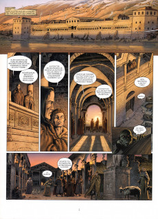 Extrait de Millénaire -5- L'ombre de l'Antéchrist
