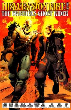 Extrait de Ghost Riders: Heaven's on Fire (Marvel - 2009) -3- Heaven's on fire part 3 : the brothers ghost rider