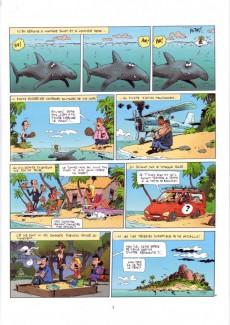Extrait de Le flagada - Nouvelle série -2- L'île recto-verso
