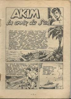 Extrait de Akim (1re série) -197- La Croix du Sud