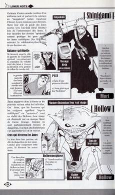 Extrait de Bleach -HS2- Souls - Official Character Book
