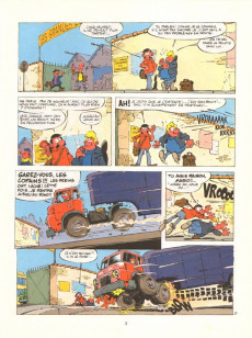 Extrait de Niky -1- Fausse note pour un camionneur