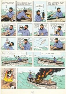 Extrait de Tintin (Historique) -9B22- Le crabe aux pinces d'or
