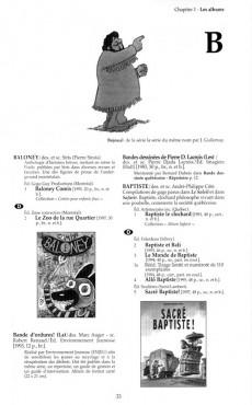 Extrait de BDQ -1- Répertoire des publications de bandes dessinées au Québec des origines à nos jours