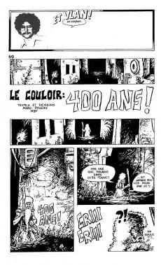 Extrait de (Catalogues) Expositions - Et vlan ! on s'expose... Quinze ans de bande dessinée dans la région de Québec - 1971/1985