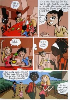 Extrait de La bd des filles -3- Sable ou galets ?