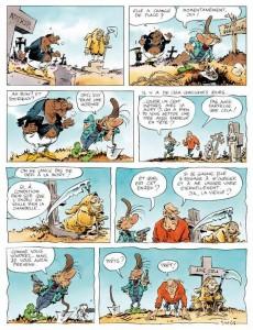 Extrait de Pierre Tombal -26- Pompes funèbres