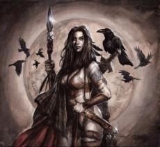 Extrait de Guerrières Celtes