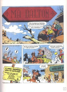Extrait de Lucky Luke - Les Dessous d'une création (Atlas) -2- Ma Dalton / Chasseur de primes