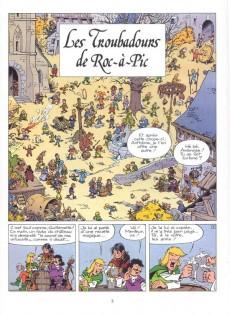 Extrait de Johan et Pirlouit -15Pub- Les Troubadours de Roc-à-Pic