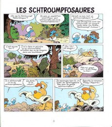 Extrait de Schtroumpfs (3 histoires de) -12- Les schtroumpfosaures