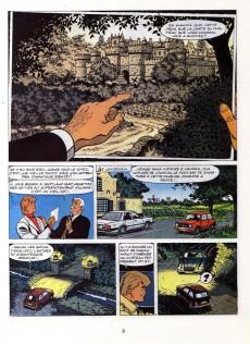 Extrait de Ric Hochet -34- La nuit des vampires