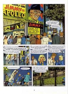 Extrait de Ric Hochet -54- Le masque de la terreur