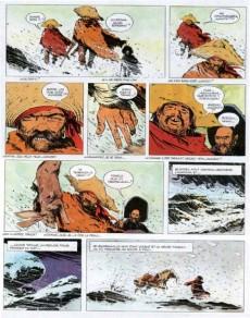 Extrait de Ringo (Vance) -3- Trois salopards dans la neige
