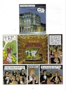 Extrait de Rouletabille (Duchâteau/Swysen) -3- Le trésor du fantôme de l'opéra