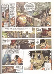 Extrait de Un moNde idéal -2- Les contes du villageois - Cycle 1 - Le Village