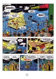 Extrait de Sammy -4- Les gorilles marquent des poings et Gorilles et spaghetti