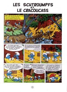 Extrait de Les schtroumpfs -5- Les Schtroumpfs et le Cracoucass