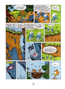 Extrait de Les schtroumpfs -5b83'- Les schtroumpfs et le cracoucass