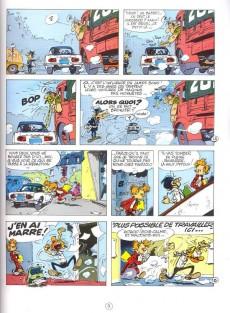 Extrait de Spirou et Fantasio -19Atlas- Panade à Champignac
