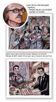 Extrait de BD World - Les stars du music'hall d'Algérie